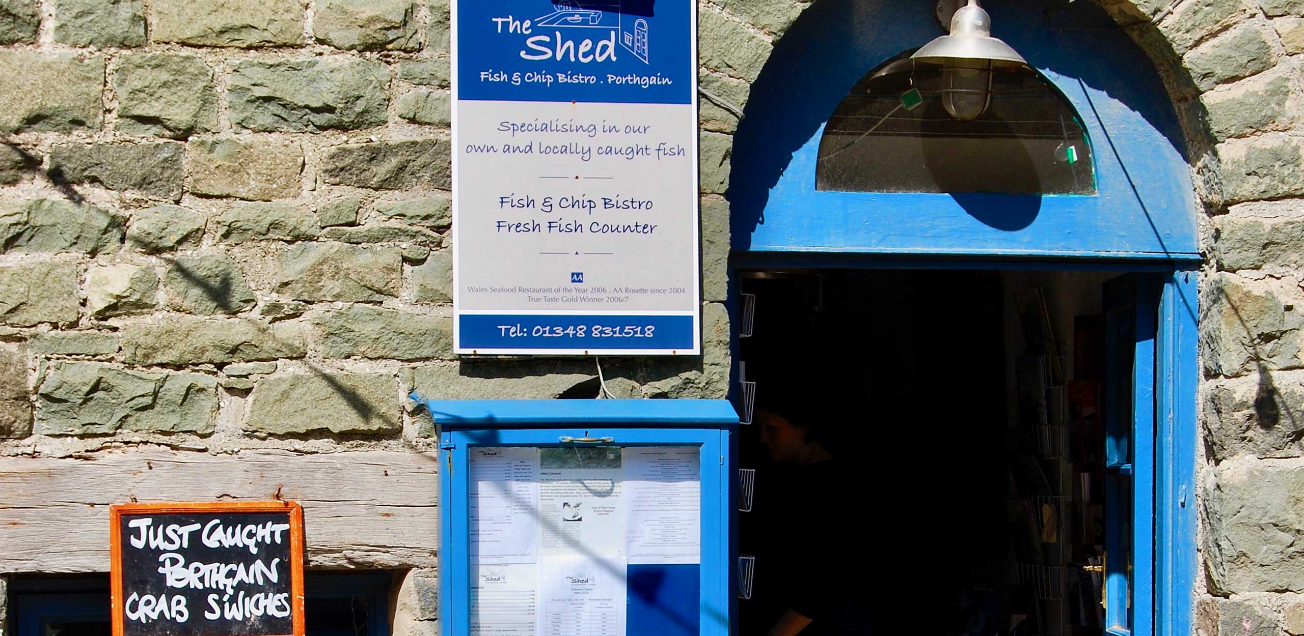 The Shed at Porthgain