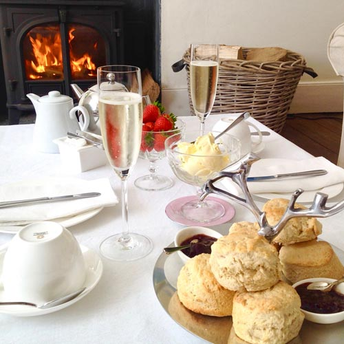 Cream Tea and Champagne Vouchers